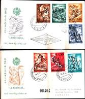 13131A)F.D.C. SAN MARINO   Centenario Dei Primi Francobolli Di San Marino - 28 Agosto 1977 - FDC