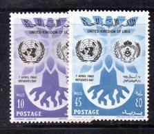 APR2349 - LIBIA 1960 ,  Serie Rifugiati  ***  MNH  (2380A) - Libia