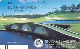 Japan Balken Telefonkarte * 110-21739  * Japan Front Bar Phonecard - Japan
