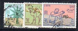 APR2351 - LIBIA 1963 ,  Serie Usata  (2380A)  FAME - Libia