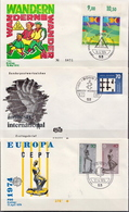Germany 3 FDCs From 1974 - [7] Federal Republic