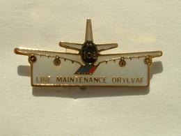 PIN'S AIR FRANCE - LINE MAINTENANCE ORYLVAF - Avions