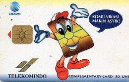 INDONESIA -  TELEKOMINDO - COMPLIMENTARY CARD 1.000ex - Indonesië