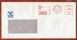 Brief, Absenderfreistempel, Damit Radfahren Spass Macht Torpedo Automatic, 50 Pfg, Schweinfurt 1976 (77968) - [7] Repubblica Federale