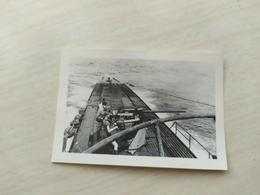 WWII Foto WEHRMACHT SOLDATEN Kriegsmarine UBOOT - 1939-45