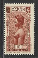 GABON 1932 YT Taxe 24** - MNH - SANS CHARNIERE NI TRACE - Unused Stamps