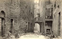 """CORSE -- SOLLACARO - La Tour Où Alexandre DUMAS écrivit """"Les Deux Frères Corses"""" En 1874 - V. Porro - France"""