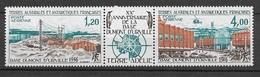 TAAF 1976 Poste Aérienne N° 43A  Triptyque  N * * Luxe  TTB - Lots & Serien