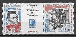TAAF 1993  N° 183A  Triptyque   N * * Luxe  TTB - Tierras Australes Y Antárticas Francesas (TAAF)