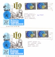 417    2  FDC - Premiers Jours (FDC)