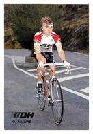 CARTE CYCLISME GUILLERMO ARENAS TEAM BH 1989 - Cyclisme