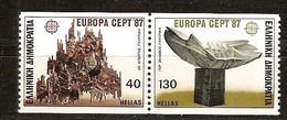 Cept 1987 Grèce Greece Griekenland Yvertnr 1634-1635 *** MNH Cote 6,00 Euro - Grèce