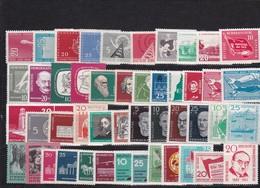 DDR, Fast Kpl. Jahrgang 1958** (T 12255) - [6] Repubblica Democratica
