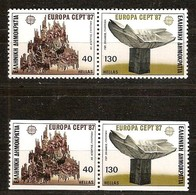 Cept 1987 Grèce Greece Griekenland Yvertnr 1632-1635 *** MNH Cote 12,50 Euro - Grèce