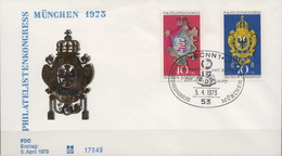 Germany Set On FDC From 1973 - Philatelic Exhibitions
