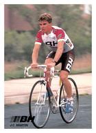 CARTE CYCLISME JUAN CARLOS MARTIN TEAM BH 1989 - Cyclisme