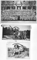 Armée Française  Lot Artillerie Dca 75 Mm  Et Canon Dca France 40  Caserne  (3) - Krieg, Militär