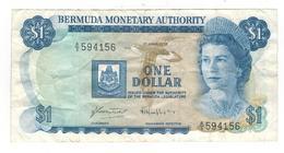 Bermuda 1 Dollar 1978. Crisp VF. - Bermuda