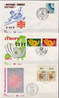 Germany 3 FDCs From 1973 - [7] Federal Republic