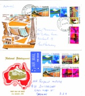 446 - 49     2  FDC - Premiers Jours (FDC)