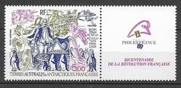 TAAF 1989 Poste Aérienne N° 107   N * * Luxe  TTB - Franse Zuidelijke En Antarctische Gebieden (TAAF)