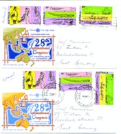 461 - 63     2  FDC - Premiers Jours (FDC)