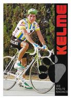 CARTE CYCLISME JOSE HIPOLITO RONCANCIO TEAM KELME 1989 - Cyclisme