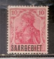 SARRE    OBLITERE - Saar