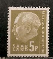 SARRE       NEUF ** - Saar