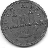 *notgeld Burg A Fehm  10 Pfennig 1917 Zn   2223.3/ F66.2 - Other