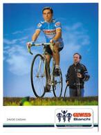 CARTE CYCLISME DAVIDE CASSANI TEAM GEWISS 1989 - Cyclisme