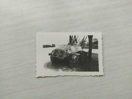 WWI  Foto German   Panzer  Propaganda  Wehrmacht Kampfwagen Tank Dänemark - 1939-45