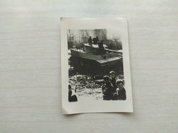 WWI  Foto German   Panzer  Propaganda  Wehrmacht Kampfwagen Tank Tiger - 1939-45