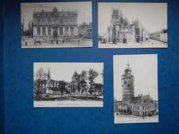 LOT DE 4  CARTES POSTALES DE BERGUES 1910-1920 - Bergues
