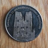 3231 Vz Cathedralis SS Michaelis Et Gudulae Bruxellensis - Kz Belgian Heritage Collectors Coin - België