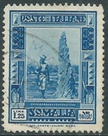 1935-38 SOMALIA USATO PITTORICA 1,25 LIRE - UR30-8 - Somalia