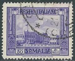 1935-38 SOMALIA USATO PITTORICA 50 CENT - UR30-8 - Somalia