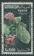 1955 SOMALIA AFIS USATO FIORI 60 CENT - UR31 - Somalia (AFIS)