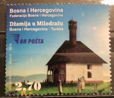 Bosnia And Hercegovina, 2018, Mi:  737 (MNH) - Mosques & Synagogues