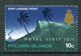 Pitcairn Islands 1971 Royal Visit MNH (SG 115) - Stamps