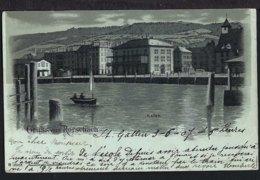 Gruss Aus Rorschach - Hafen Von Der Seeseite Aus - 1907 - SG St. Gallen