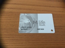 Carte De Casino Magnétique «M Life - PEARL» LAS VEGAS - USA - Cartes De Casino