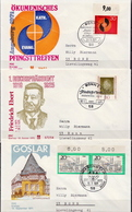 Germany 3 Used FDCs From 1971 - [7] Federal Republic