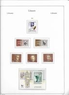 1994 MNH Lituania Year Collection Postfris** - Lituania
