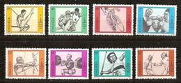 Rwanda Ruanda 1980 OBCn° 977-984 *** MNH  Cote 5,75 Euro Jeux Olympiques Moscou - Rwanda