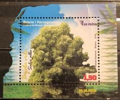 Bosnia And Hercegovina, 2018, Mi: Block 64 (MNH) - Trees