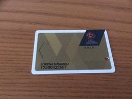 Carte De Casino Magnétique «TOTAL - GOLD» LAS VEGAS - USA - Cartes De Casino