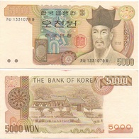 Korea South - 5000 Won 1977 XF Lemberg-Zp - Korea, South