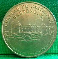 MEDAILLE TOURISTIQUE . LOT . CHATEAU DE CASTELNAU BRETENOUX . CAISSE DES MONUMENTS ET DES SITES . MONNAIE DE PARIS 1998 - Non-datés