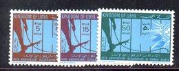 APR2357 - LIBIA 1963 ,  Serie Integra  *** MNH   (2380A)  Diritti Uomo - Libia